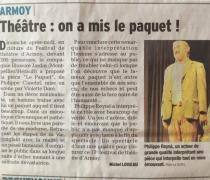 """""""Le Paquet"""" version """"solo"""" au festival d'Armoy (74)"""