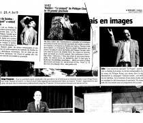 """""""Le Paquet"""" au théâtre du Guidou à Sciez-sur-Léman"""